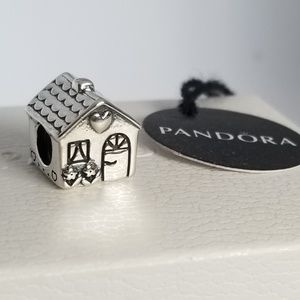 Pandora Home, Sweet Home Charm Silver New with tag
